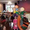 Fabulous birthday party with the children in Preston with Betty's famous balloon story'The Enormous Carrott'